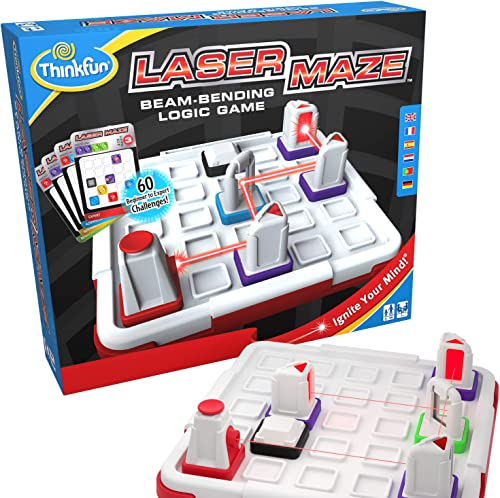 Think Fun Laser Maze (Class 1) Brain Game and STEM Toy for Boys and Girls Age 8 and Up – Award Winning and Mind Chall...