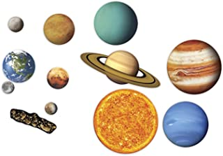 Learning Resources LER6040 Giant Magnetic Solar System, Multicolor,5 Inch (12 Count)