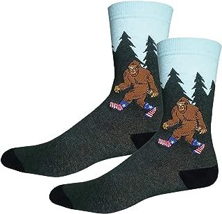 Classic Bigfoot One Size Fits Most Crew Socks