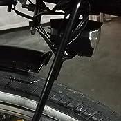 nean Faro delantero para dinamo para bicicleta con luz autom/ática 70 lux placa de refrigeraci/ón de aluminio luz de posici/ón color negro reflector y homologaci/ón StVZO