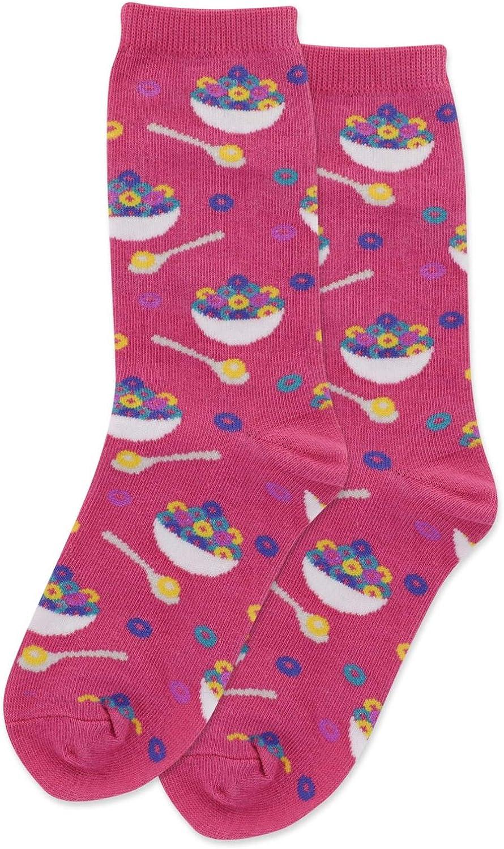 Hot Sox Kids Cereal Crew Socks