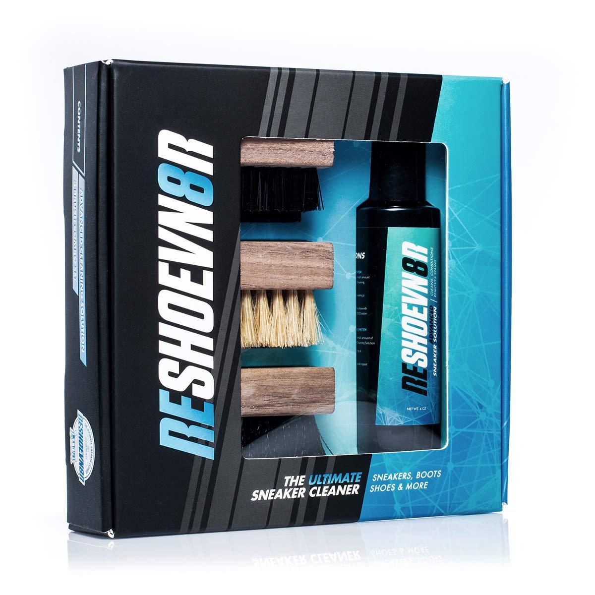 Reshoevn8r 4 oz. 3 Brush Shoe Cleaning