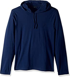 Nautica Men's Long Sleeve Pullover Hoodie Sweatshirt,