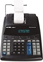 Victor 14604 1460-4 Extra Heavy-Duty Printing Calculator, Black/Red Print, 4.6 Lines/Sec