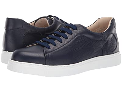 Canali Leather Sneaker (Navy) Men