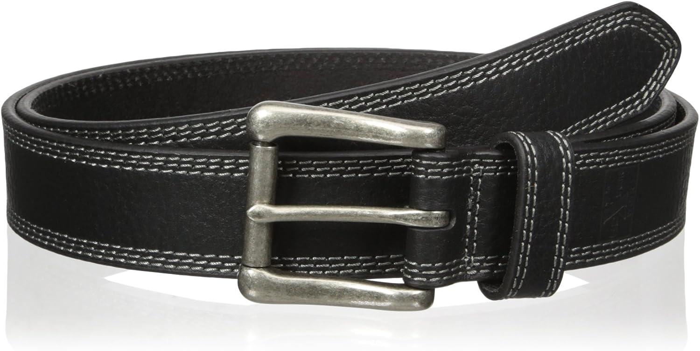Nocona Belt Co. Men's Black Stitch Triple National uniform free shipping Work Clearance SALE Limited time