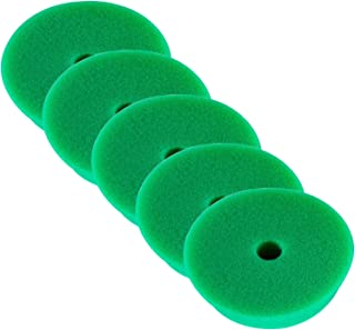 RUPES 5X Polierpad Medium Polierschwamm Polierscheibe grün mittel 150 180 mm