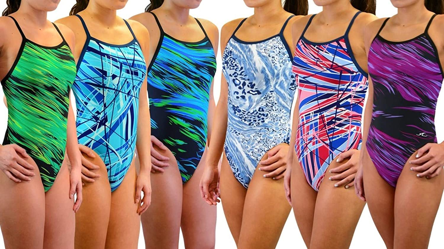 Adoretex Girls Womens Pro One Swimsuit National uniform free shipping Shipping included Strap Athletic Thin Piece