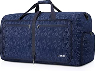 80L Packable Travel Duffle Bag Foldable Duffel Bags for Luggage Gym Sports Camping Travelling Cycling Storage Shopping Water & Tear Resistant