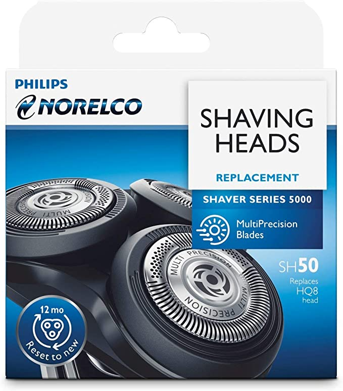 Amazon.com: Norelco Replacement Blade Heads - Parts for PT720, PT724, PT730, AT810, AT830 PowerTouch Electric Shaver Razor : Beauty & Personal Care