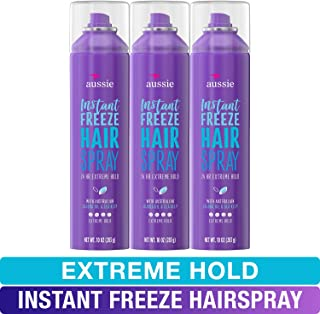 Sponsored Ad - Aussie, Hairspray, with Jojoba & Sea Kelp, Strong Hold, 10 fl oz, Triple Pack