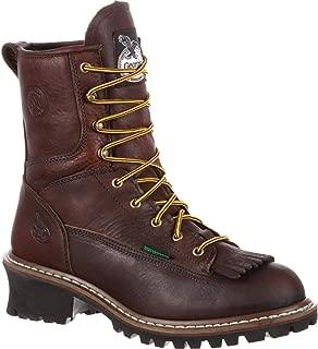 Georgia G7113 Mid Calf Boot, Chocolate, 11 W US