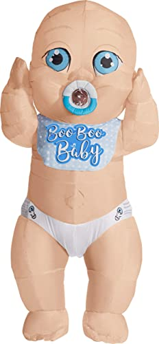Boo Boo Baby Inflatable Adult Costume, One Größe