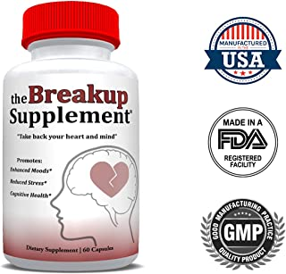 The Breakup Supplement™ - The All-Natural Dietary Supplement for Reduced Stress, Enhanced Moods, and Cognitive Health for People Dealing with Divorce, Separation, and Heartbreak