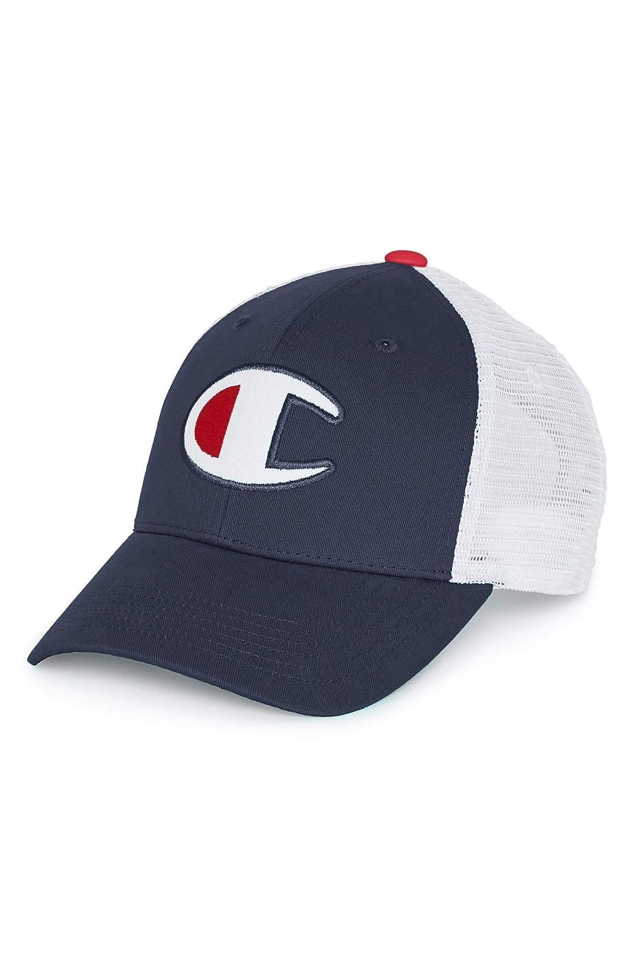 メッセージシャンパンブリーフケース[チャンピオン] メンズ 帽子 Champion Mesh Back Dad Cap [並行輸入品]