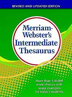 Merriam-Webster Intermediate Thesaurus Book, Grade 5 to 8