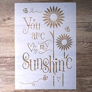 Best you are my sunshine stencil on wood Reviews