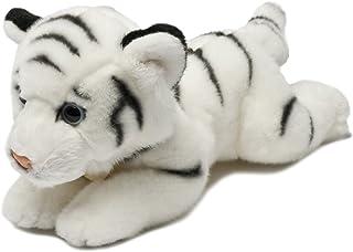 Aurora, 13170, MiYoni White Tiger, 8In, Soft Toy