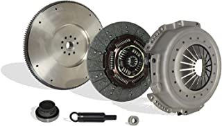 Clutch With Solid Flywheel Kit Works With Ford F Super Duty F250 F350 XL XLT Custom 1988-1994 7.3L V8 DIESEL OHV Naturally Aspirated 7.3L V8 DIESEL OHV Turbocharged (Conversion Kit Works With)