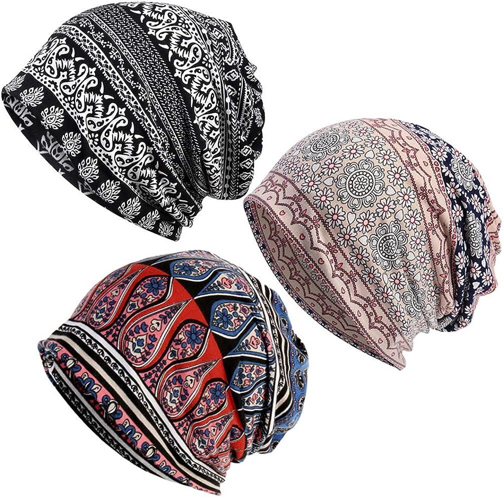 Regular dealer CIBIRICH Chemo Caps for Women Beanies Slouchy Cancer Headwea Detroit Mall Men