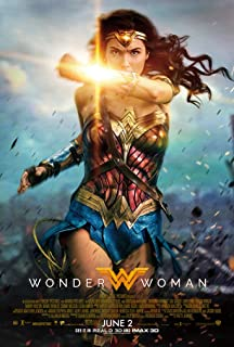 "Wonder Woman (2017, English Version FULL THEATRICAL CREDITS) Style B - Movie Poster - Size 24""x36"""