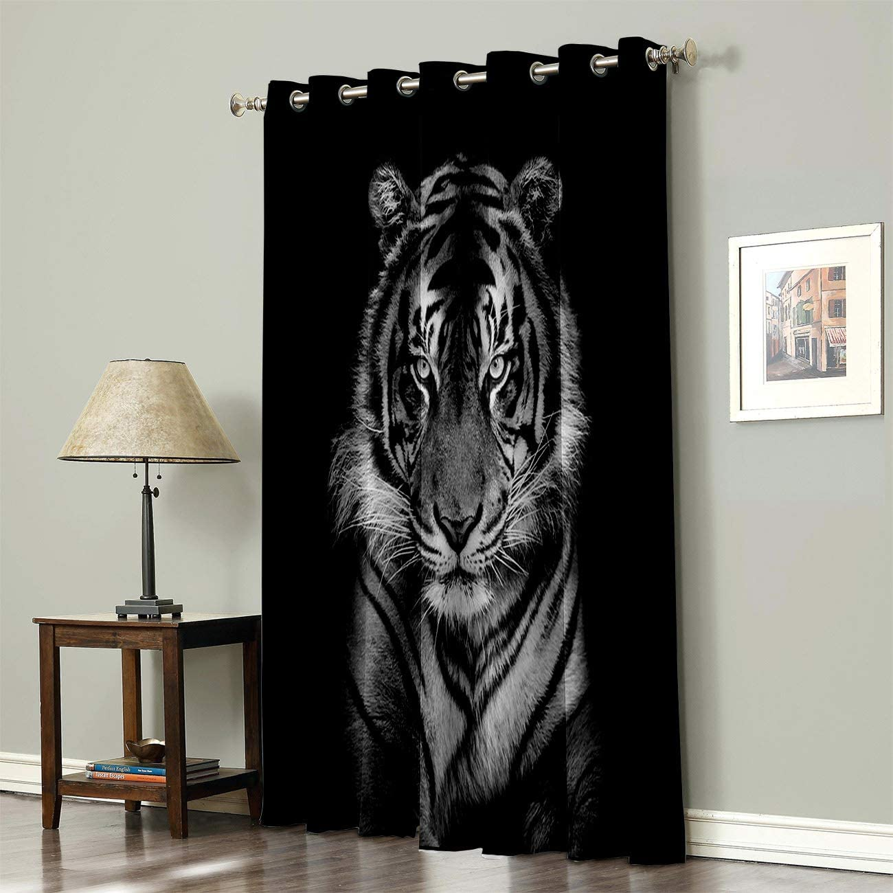 Advancey Wildlife Animal Thermal ご予約品 Insulated Curtains - 1 Blackout 2020春夏新作