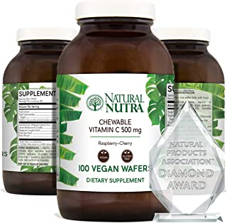 Natural Nutra Vitamin C Supplement for Kids and Adults, Immune Booster, Protect Skin from Signs of Aging, Healthy Heart, H...
