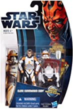Star Wars 2012 Clone Wars Animated Action Figure CW No. 07 Clone Commander Cody