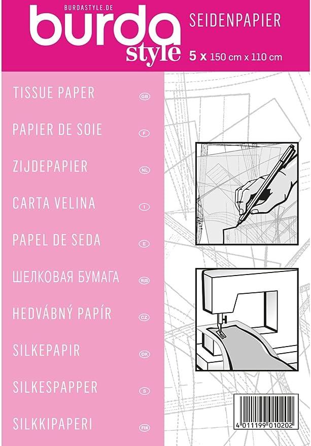 54 opinioni per Burda 2Gtis-Carta velina per sarti, 110 x 150 cm, Rosa, taglia unica