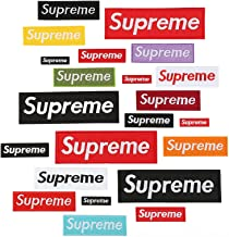Calculs Iron on Hip Hop Patches Multi-Sized Embroidered Letters for Skateboarding Clothing Rock DIY 22 Pcs/Set