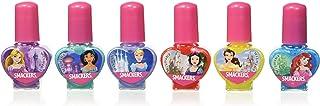 Lip Smacker Disney Nail Collection, Princess Nail Polish, Set of 6 Water-Based Polishes