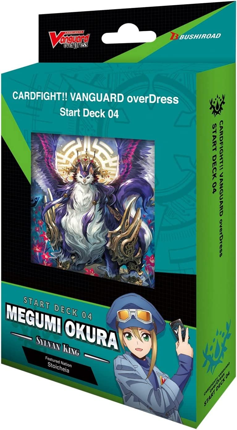 Amazon Com Cardfight Vanguard Overdress Vge D Sd04 Megumi Okura Starter Deck English 50 Cards Toys Games
