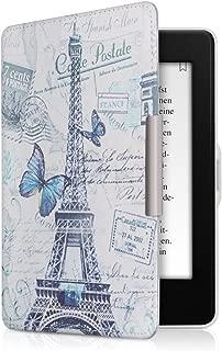 kwmobile Amazon Kindle Paperwhite 用 ケース - 電子書籍カバー PUレザー - オートスリープ Reader 保護ケース (2018(第10世代)には合いません)