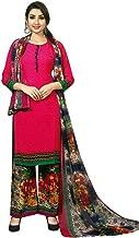 Ladyline Ready to Wear French Crepe Printed Salwar Kameez Suit Indian Pakistani Dress