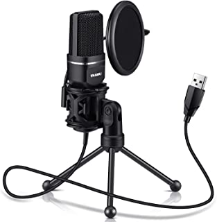 USB Microphone, TKGOU Computer Condenser Recording Microphones.for PC,PS4,Laptop,Desktop,Tripod Stand,Pop Filter,Shock Mou...