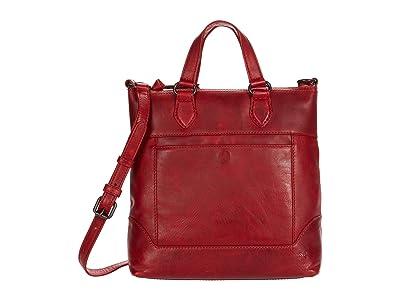 Frye Melissa Small Tote Crossbody (Red) Cross Body Handbags