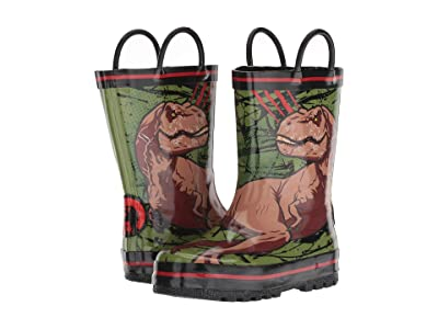Favorite Characters JPF500 Jurassic Worldtm Rain Boot (Toddler/Little Kid) (Green) Boy