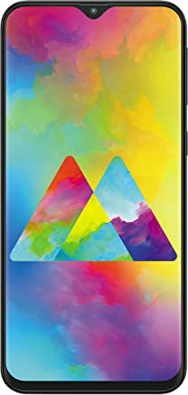Samsung Galaxy M20 (Charcoal Black, 4+64GB)