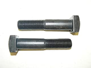 PT Coarse Thread A307 Grade A Square Head Machine Bolt Low Carbon Steel Plain Finish Pk 450 3//8-16 x 2 3//4