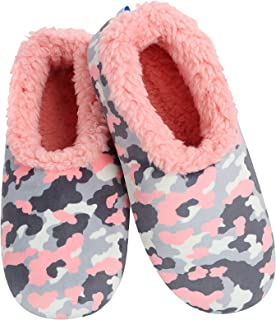 Slumbies Camo Womens Slippers - House Slippers for Women