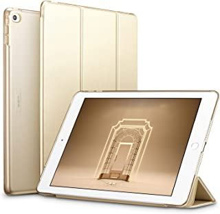 ESR Yippee Smart Case for The iPad Air 2, Smart Case Cover [Synthetic Leather] Translucent Frosted Back Magnetic Cover with Auto Sleep/Wake Function [Light Weight] (Champagne)