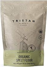 Tristan Foods Organic Spelt Flour (2 lbs.) Natural, Wholegrain, Vegan Friendly   All-Purpose Cooking and Baking   Cookies,...