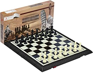 QDY Chess International Chess Chess Sets, Amusingholiday Chess Set Travel Portable for Family Beginners (34 Pieces)