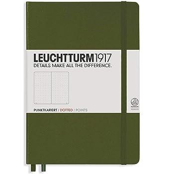 taccuino copertina rigida A5 249 pagine A righe Liniert Orange Leuchtturm 1917