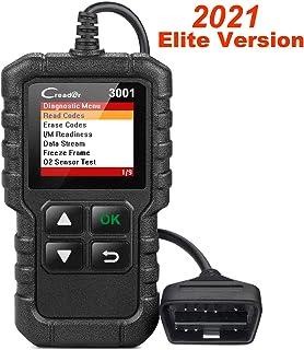 Launch X431 Creader 3001 OBD2 Scanner Automotive Car Diagnostic Tool Check Engine Light O2 Sensor Systems OBD Code Readers...