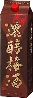 アサヒ 黒糖濃醇梅酒 14度 パック [ 1800ml ]