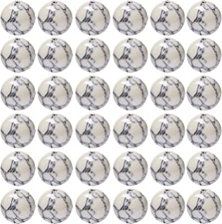 Natural Stone Beads 100pcs 8mm White Howlite Round Genuine Real Stone Beading Loose Gemstone Hole Size 1mm DIY Charm Smooth Beads for Bracelet Necklace Earrings Jewelry Making (White Howlite)