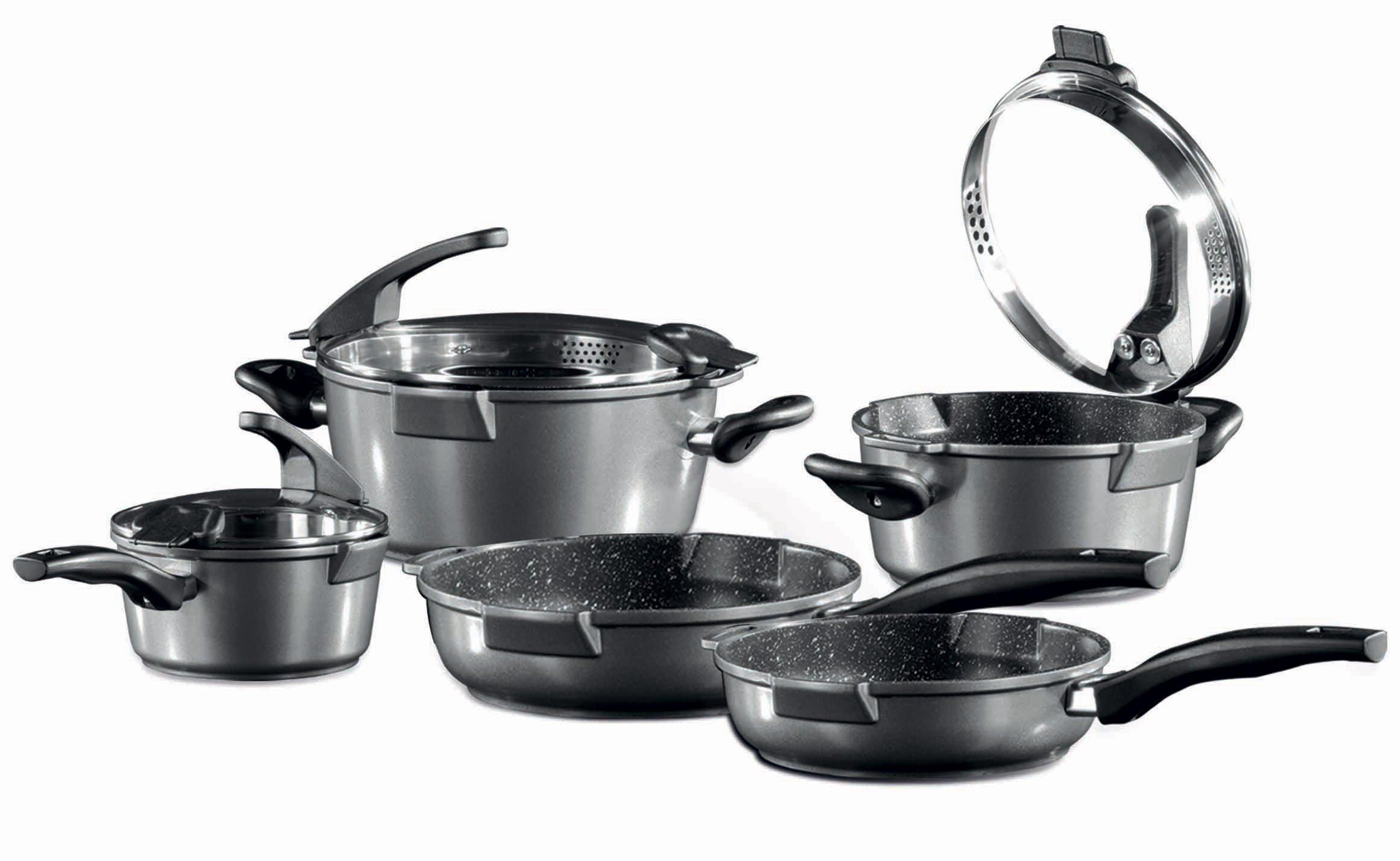 Germanys Stoneline Non stick Non Toxic Cookware