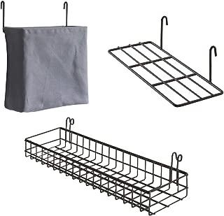 LRUIJIE Rack Triangular Perforaci/ón Libre Cuarto de ba/ño Colgante de Pared Rack de Almacenamiento Bastidores de Lavado Blanco