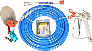 DUSICHIN DUS-367 Airless Paint Spray Gun Hose High Pressure 3600 PSI 517 TIP Extension Rod Pole Rod 50 Feet Diameter 1/4 i...